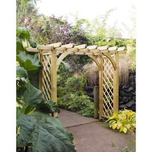 Forest Garden Large Ultima Pergola Arch 245cm (h) x 270cm (w) x 136cm (d) £204.99 Delivered @ Toolstation