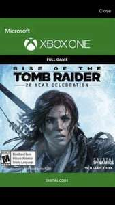 Rise of the Tomb Raider - Xbox One - £13.50 @ Microsoft Store