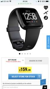 Fitbit Versa for £159.99 at Decathlon available online
