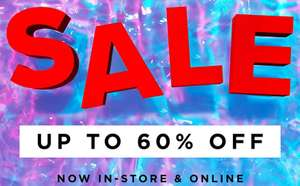 River island sale online and instore -  up to 60% off (incls fashion for Women, Men, Girls & Boys - selected lines)
