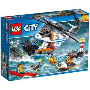 LEGO 60166 Heavy Duty Rescue Helicopter - £19.50 @ Amazon with Prime / £23.99 Without