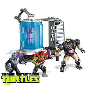Megabloks Teenage Mutant Ninja Turtles : Cryo chamber & figures ( 77 pieces ) £3.99 @ Home & Bargain