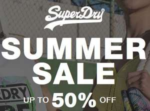 Superdry summer sale up to 50% off + Free Delivery & Returns