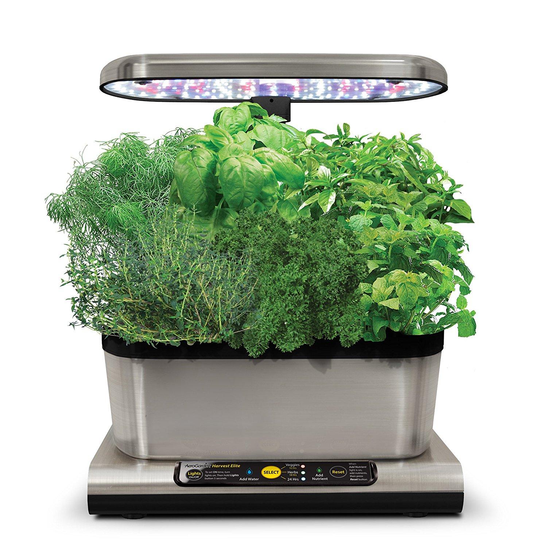 Miracle-Gro AeroGarden Harvest Elite with Gourmet Herb Seed Pod Kit, Stainless Steel £79.99 Amazon