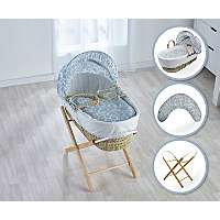 Kinder Valley Moses Basket, Folding Stand and Pillow & mattress now £22.95 delivered @ George Asda