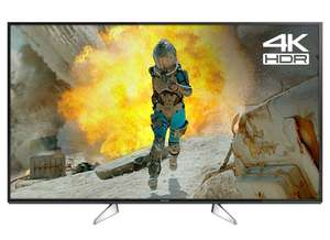 "PANASONIC TX-55EX580B 55"" Smart 4K Ultra HD now £449.10 or PANASONIC TX-49EX580B 49"" Smart 4K Ultra HD now £359.10 delivered using code @ Currys eBay"