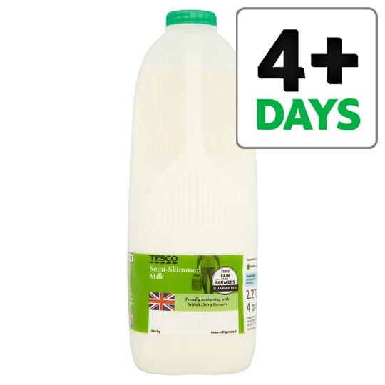 Tesco Express. - 2 x 4 pint milk for £2