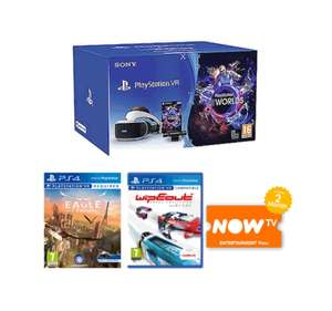 Playstation VR Starter Pack + WipEout Omega Collection + Eagle Flight + Now TV 2 Month Entertainment Pass - £199.99 Delivered @ Game