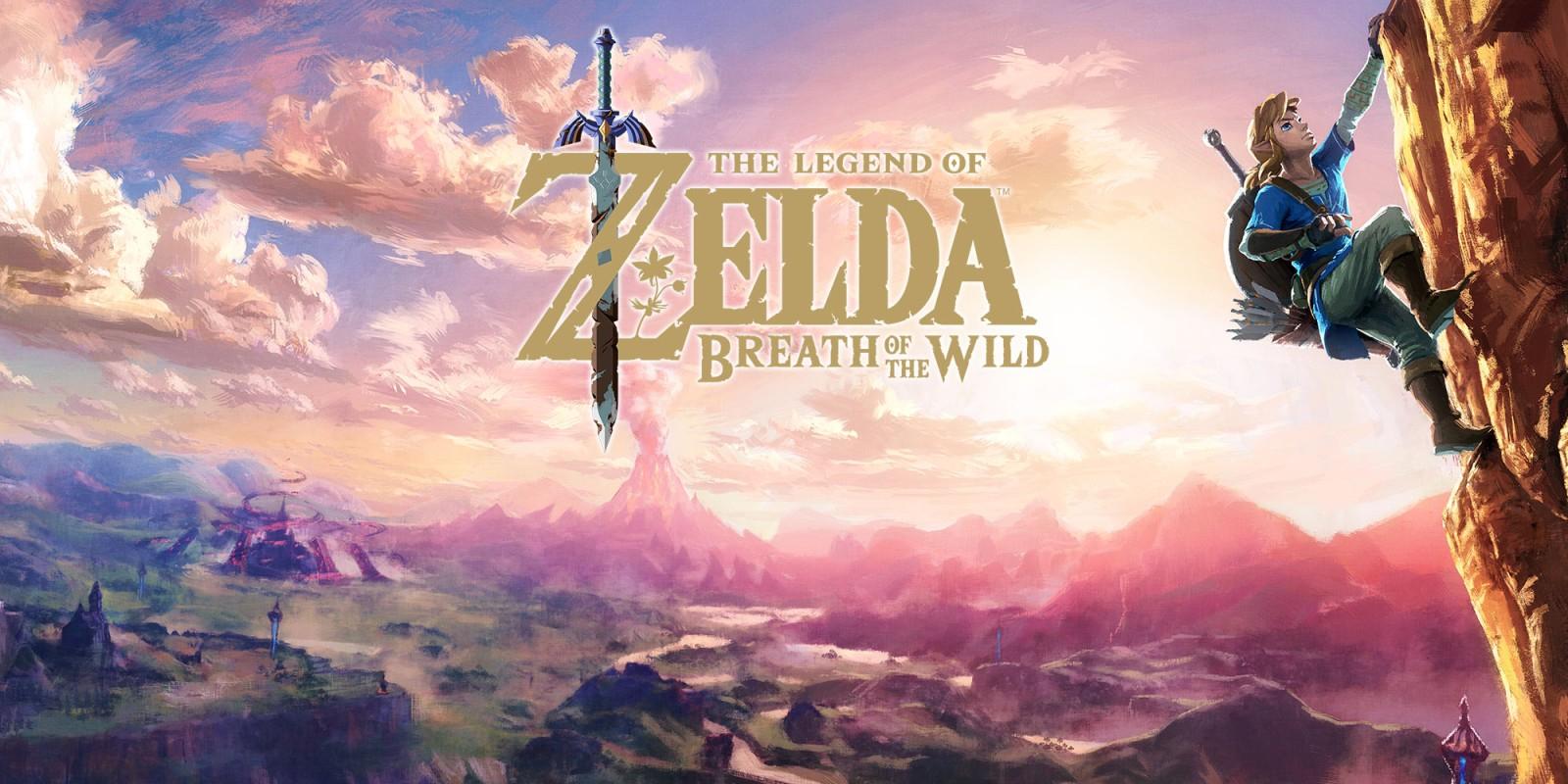 Nintendo Eshop Zelda Breath of the Wild £44.99