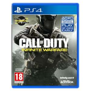 Call Of Duty - Infinite Warfare - PS4 and Xbox one - £3.99 delivered @ GAME