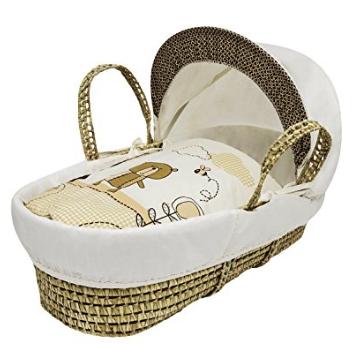 Kinder Valley Tiny Ted Moses Basket, Cream £16 (Prime) £20.49 (Non Prime) @ Amazon