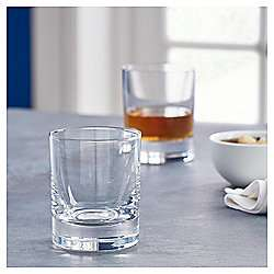 Fox & Ivy Crystal Glass Pack of 4 Whisky Glasses (Half price, Free C&C) £7.50 @ Tesco