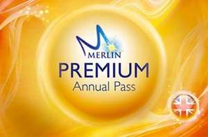 Merlin Annual Pass Premium pass renewals sale from £129