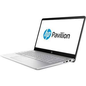 """HP Pavilion Pro Notebook 14-bf007na 14"""" Laptop - Natural Silver £449 Delivered with code @ AO"""