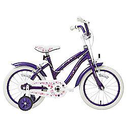 Terrain Purple Flowers 16 inch Wheel Kids Bike £42 @ Tesco