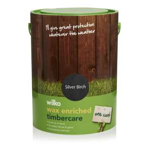 Wilko deals sales for june 2018 hotukdeals wilko wax enriched timbercare silver birch 5l 7 wilkos negle Images
