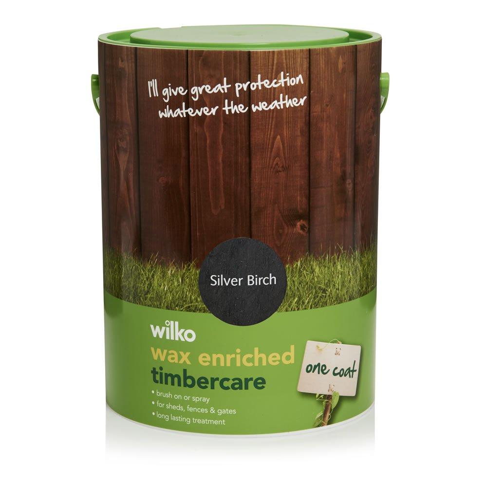 Wilko Wax Enriched Timbercare Silver Birch 5L £7 @ Wilkos