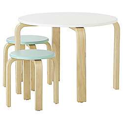 Curved Play Table and Two Stool Set £22 Tesco Direct free C&C