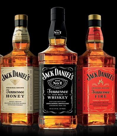 Jack Daniel's Tennessee Whiskey 70cl Original/Honey/Fire - £16 @ Sainsburys