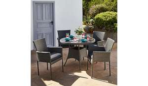Trento 5 Piece Dine Set £249 @ Asda