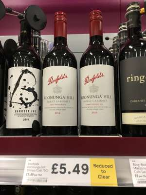 Penfolds Reduced to clear bargain £5.49 @ Tesco