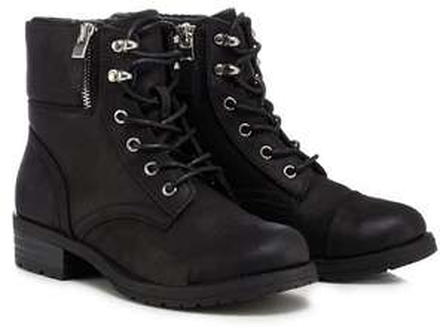Ladies Biker Boots,in sizes 3,4,5,6 and 7 - £21 @ Debenhams