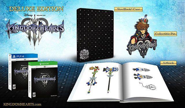 Kingdom Hearts 3 Deluxe Edition XBO/PS4 £69.99  @ 365Games