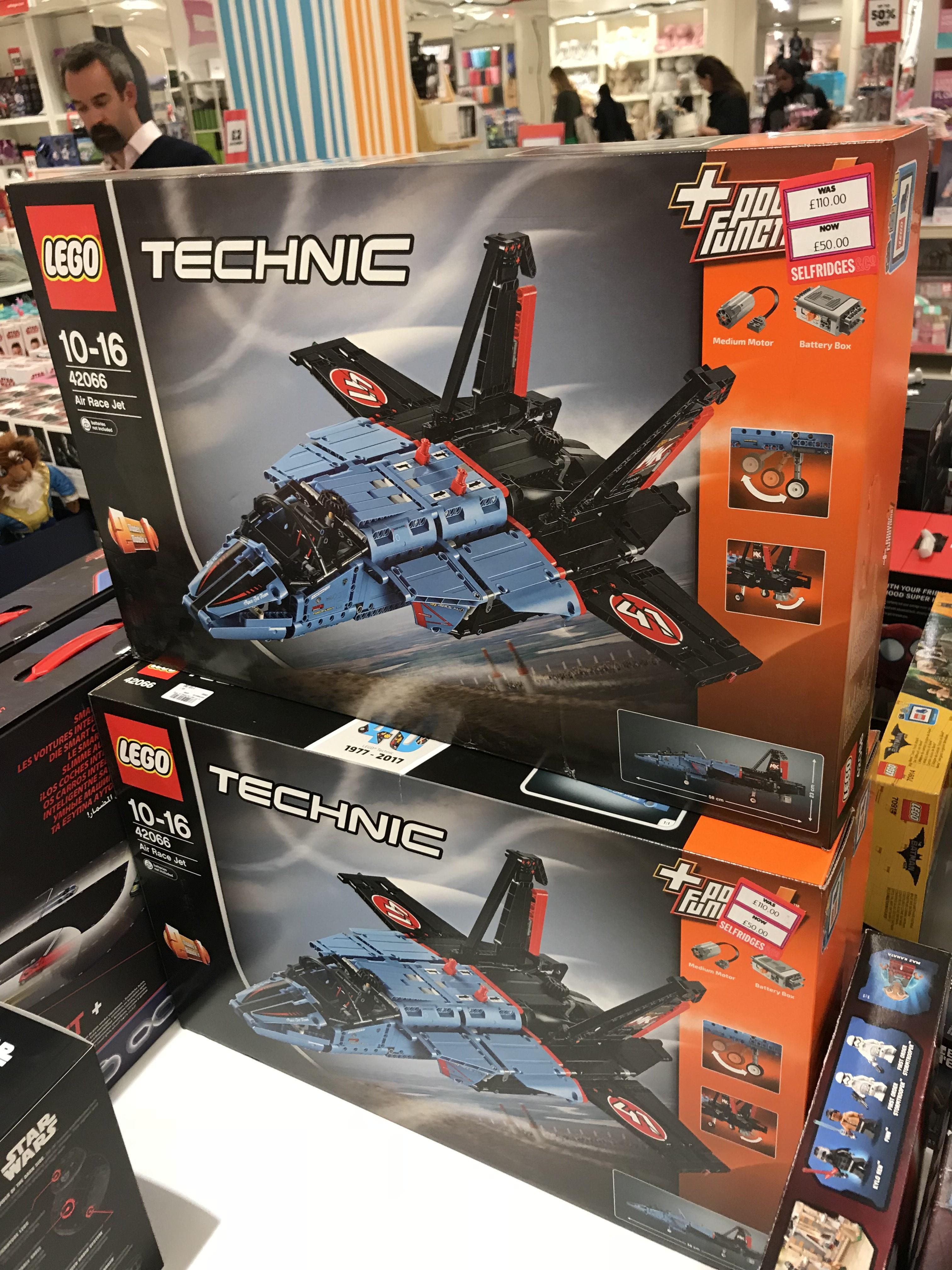 Lego Air Race Jet £50 instore @ Selfridges