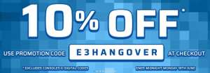 10% OFF* AT THE GAME COLLECTION