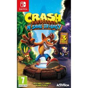 Crash Bandicoot N. Sane Trilogy Switch / Xbox £25.15 (Pre order) @ TheGameCollection