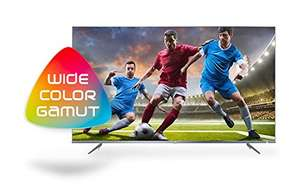 TCL 43DP648 43 Inch 4K Ultra Thin UHD HDR 10 and 10bit panel TV with Smart Freeview Play - Silver £349 @ Amazon.co.uk
