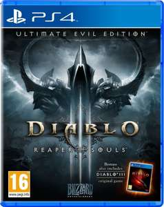 Diablo III Reaper of Souls - Ultimate Evil Edition £10.75 PS4/Xbox One w/code @ The Game Collection