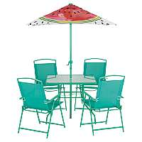 Watermelon 6 Piece Patio Set was £103.95 Delivered now £64.95 Delivered @ Asda George