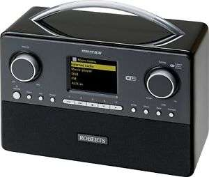Roberts Stream93i RDS LCD with Headphone Socket DAB Radio - Black - Argos eBay £137.49