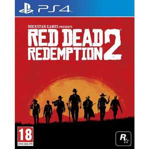 Red dead redemption 2 Ps4/xb1 preorder £40.45 with code at TGC. E3HANGOVER code still working