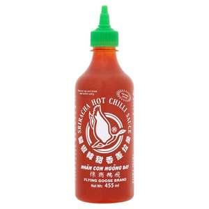 Flying Goose Sriracha Hot Chilli Sauce 455Ml Reduced to £2 @ Tesco and Iceland