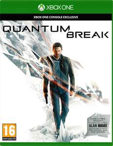 Quantum Break (Alan Wake included) & Gears of War 4 (Xbox One) £13.99 each (£12.99 + £1 delivery)  Delivered @ Zavvi