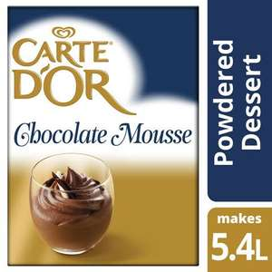 Carte d'Or Chocolate Mousse Free Sample @ Unilever
