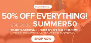 50% off EVERYTHING with code at Protein Dynamix