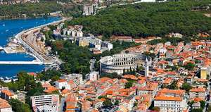 3 nights in Croatia for just £53 each (£105 total) including flights and one bed apartment @ booking.com
