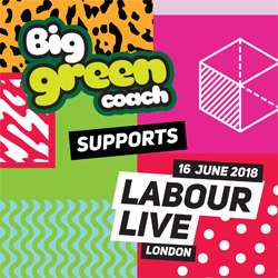 Free travel from big green coach for labour live visitors tickets £10 -  day trip to London from many cities tomorrow (Saturday)