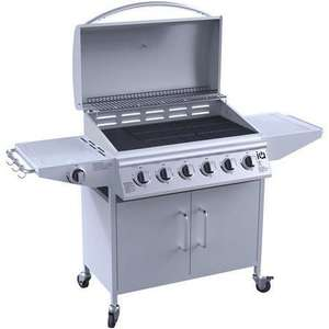 Georgia Classic 6 Burner Gas BBQ with Side Burner £199.97 @ Appliances direct