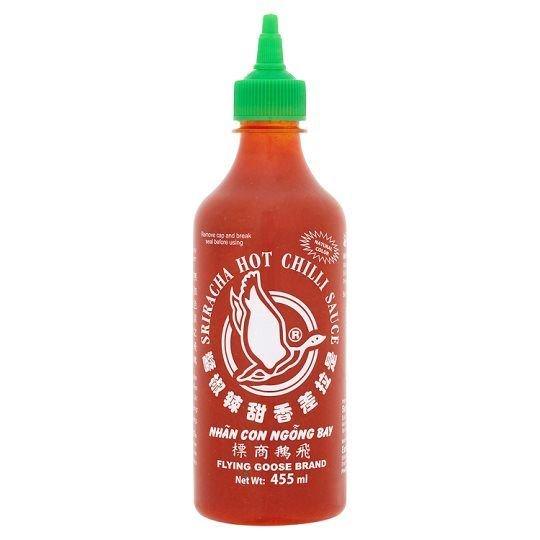 Flying Goose Sriracha Hot Chilli Sauce 455Ml £2 Aldi