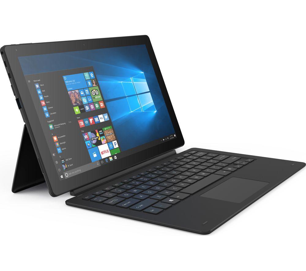 "LINX 12X64 12.5"" Tablet & Keyboard - 64 GB, Black £179.97 @ Currys"
