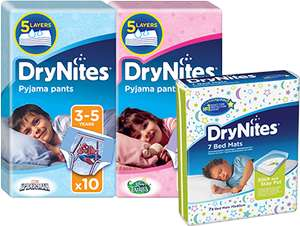 Free Drynites Nappy and £1 Coupon @ DryNites