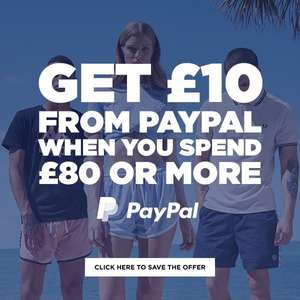 Get £10 off from PayPal when you spend £80 at JD Sports | @PayPal