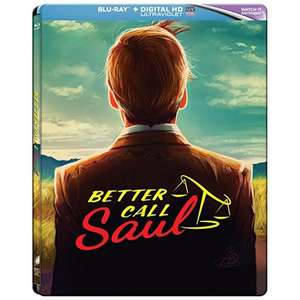 Better Call Saul Season 1 Limited Edition Blu-ray Steel Book £5.99 @ 365games