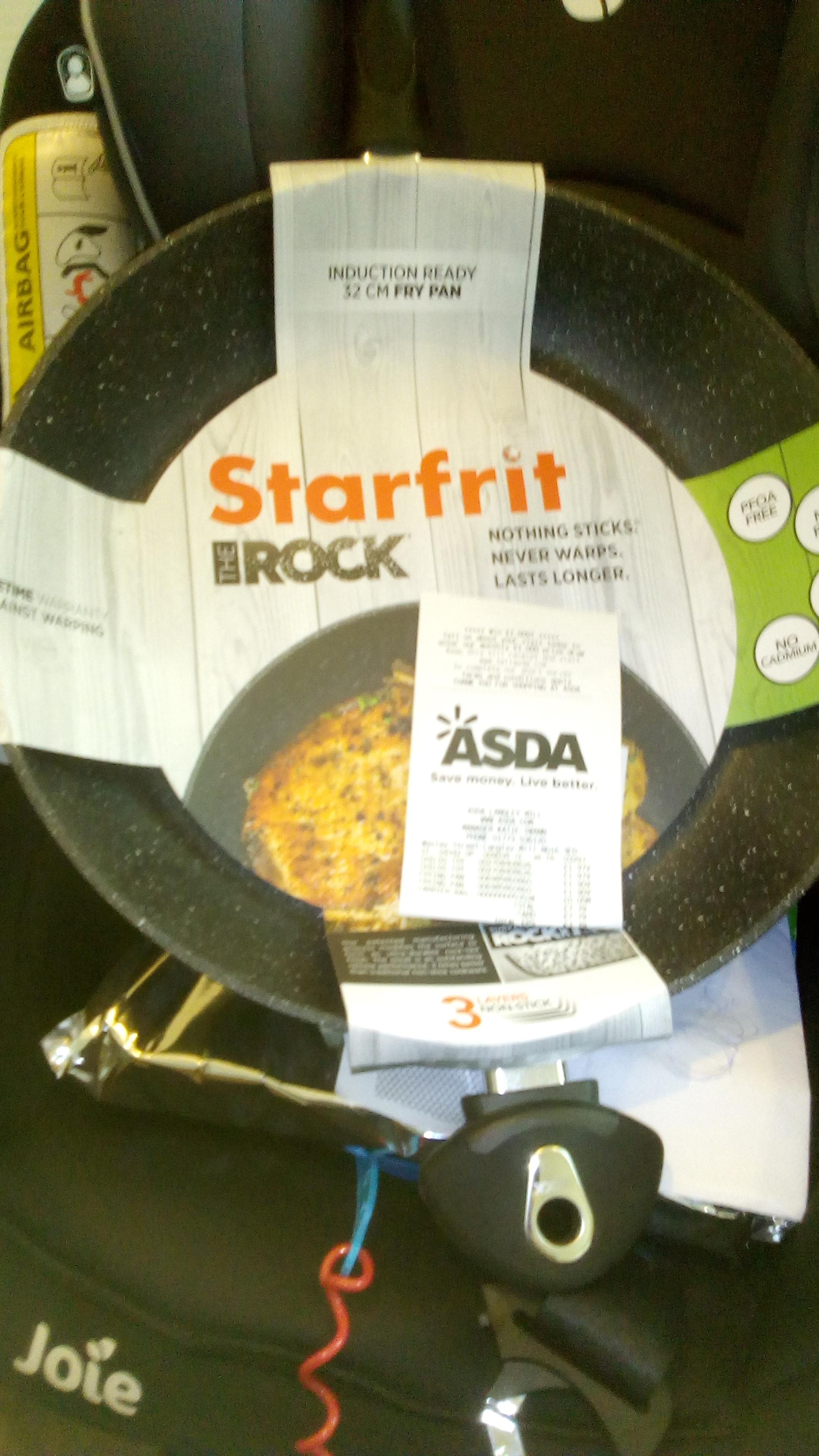 Starfrit - The Rock 32cm Frying Pan - £1.90 Instore at Asda