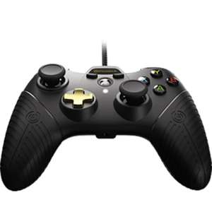 POWER A XBOX ONE FUSION CONTROLLER - BLACK £19.99 @ Game