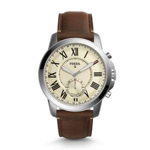 Fossil hybrid smartwatches half price from £75